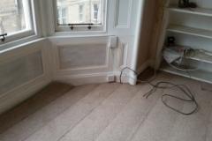 Floor beam area reinstated